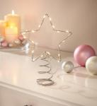Christbaum Spitze 'LED-Stern? Weihnachten Weihnachtsbaum Schmuck