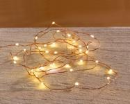 LED-LEUCHTDRAHT Schwebelicht 100 LICHTER WARMWEISS LICHTERKETTE LICHTERSCHLAUCH