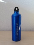 ALU TRINKFLASCHE blau für SPORT CAMPING SCHULE 0, 7L NEU