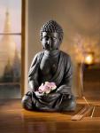 Buddha 'Innere Ruhe? Deko Figur Denkfigur Feng Shui Statue Skulptur Objekt