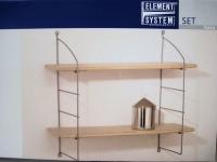 b cherregal discreto plus b cherturm regal buchregal unsichtbar wandregal kaufen bei dandibo. Black Bedroom Furniture Sets. Home Design Ideas