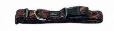 HUNTER NYLON HUNDE HALSBAND Krazy Retro Vario Basic Gr. XS 22 - 35 cm HALSUNG