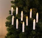 11tlg. LED Kerzen Set Christmas Weichnachtsbaum Schmuck Verzierung Weihnachten