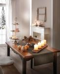 3er Set Deko Kugel 'Mangoholz? Streuer Tisch Kugeln Natur Holz Weihnachten