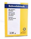 50x Office Point Schreib Block kariert je 50 Blatt A4 Brief Notiz Schul College
