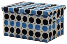 KESPER TEXTIL AUFBEWAHRUNGSBOX mit Deckel BOX KISTE faltbar REGAL ORDNUNG KORB