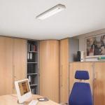 DECKENLEUCHTE Starlicht Office-Tec 2 x 18 W 686mm 1150lm HÄNGELEUCHTE HÄNGELAMPE