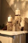 2er Kerzenhalter Sternchen Kerzen Halter Ständer Windlicht Weihnachten Teelicht