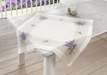TISCHDECKE 'Lavendel' 85 x 85 cm TISCHTUCH TISCHWÄSCHE TISCHDEKO NEU