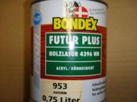 BONDEX FUTUR PLUS ACRYL HOLZLASUR ahorn 0, 75L NEU