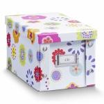 """ZELLER CD-BOX """" Kids"""" CD BOX AUFBEWAHRUNGSBOX mit DECKEL für 20 CD's NEU"""