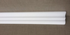 15m Decken Leisten 10x 1, 5m S2 Eck Leiste 50x45 mm 3D Optik Zier Profil Styropor
