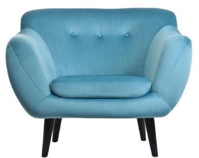 Casa Padrino Luxus Samt Sessel 97 x 81 x H. 83 cm - Verschiedene Farben - Wohnzimmer Hotel Büro Club Sessel - Luxus Kollektion