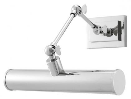 Casa Padrino Wandleuchte Silber 28, 5 x 24 x H. 20 cm - Luxus Qualität