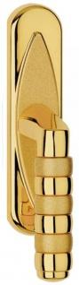 Casa Padrino Luxus Messing Fensterklinken Set Gold 4 x H. 18, 5 cm - Luxus Qualität - Made in Italy