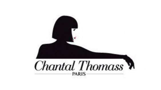 Chantal Thomass Designer Damen Regenschirm in schwarz mit schöner schwarz/weißer Kräuselkante - sehr Elegant - Made in Paris - Vorschau 3