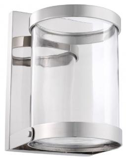 Casa Padrino Luxus Wandkerzenleuchter Silber 17, 5 x 19, 5 x H. 25, 5 cm - Wandkerzenhalter - Deko Accessoires - Vorschau 4