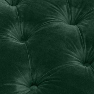 Casa Padrino Luxus Wohnzimmer Sessel Grün / Schwarz / Messingfarben 93 x 85 x H. 79 cm - Chesterfield Möbel - Vorschau 5