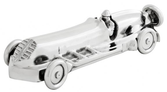 Casa Padrino Designer Deko Rennwagen 55 x 19 x H .13 cm - Luxus Wohnzimmer Dekoration