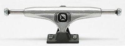 Crail Skateboard Achsen Set 136 TRAD silber/schwarz (2 Achsen)