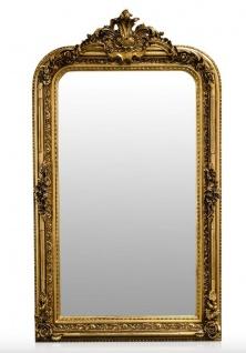 Casa Padrino Barock Spiegel Gold Antik Stil 90 x H. 160 cm - Wandspiegel Möbel