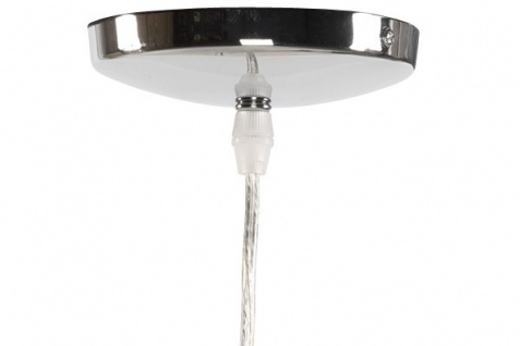 Casa Padrino Designer Pendelleuchte aus gebürstetem Aluminium, Silber - Leuchte Lampe - Vorschau 4