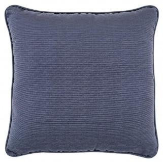 Casa Padrino Luxus Kissen Blau / Grün 60 x 60 cm - Luxus Wohnzimmer Deko