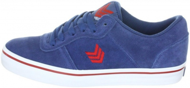 Vox Skateboard Schuhe Downlow Navy Red White