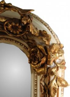 Casa Padrino Barock Wandspiegel Altweiß / Gold Antik-Look H 159 cm x B 89 cm - Edel & Prunkvoll Spiegel - Vorschau 2