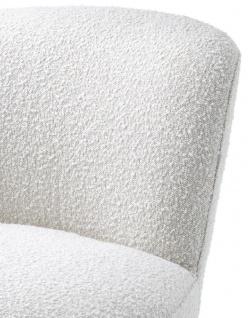 Casa Padrino Luxus Drehsessel Weiß 67 x 71 x H. 75 cm - Club Sessel - Luxus Kollektion - Vorschau 5