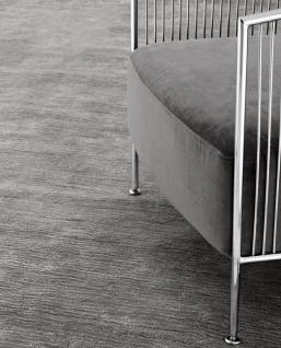 Casa Padrino Luxus Wohnzimmer Teppich Grau - Verschiedene Größen - Handgewebt