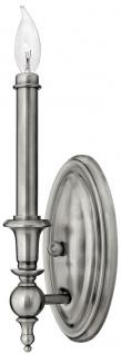 Casa Padrino Barock Wandleuchte Antik Silber 12, 1 x 12, 1 x H. 33 cm - Wandlampe im Barockstil - Barock Lampen