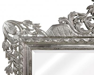 Casa Padrino Barock Wandspiegel Silber 190 x H. 155 cm - Wohnzimmer Spiegel im Barockstil - Vorschau 3
