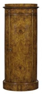 Casa Padrino Luxus Jugendstil Kommode mit Tür Hellbraun 62 x 39 x H. 145 cm - Barock & Jugendstil Möbel - Vorschau 2