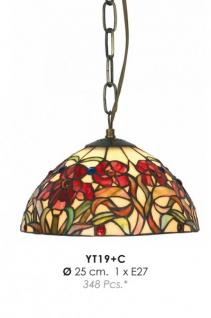 Tiffany Pendelleuchte Durchmesser 25 cm YT19 + C Leuchte Lampe