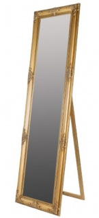 Casa Padrino Barock Standspiegel Gold 50 X H 180 Cm