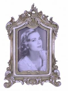Casa Padrino Barock Bilderrahmen Antik Silber H 27.3 cm, B 19 cm - SPECIAL!