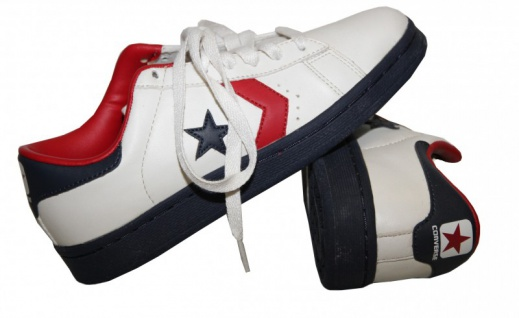 Converse Skateboard Schuhe Pro Leather Ox White/ Red/ Navy Sneakers shoes