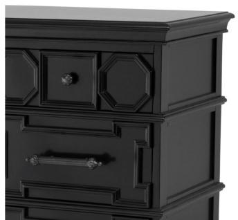 Casa Padrino Designer Mahagoni Kommode 107 x 51 x H. 101 cm - Luxus Qualität - Vorschau 3