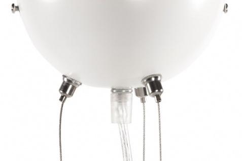 Designer Pendelleuchte aus lackiertem Aluminium, Weiss, Leuchte Lampe - Vorschau 4