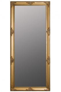 Casa Padrino Barock Spiegel Gold mit wunderschönen antik Verzierungen H. 162 cm - Handgefertigt