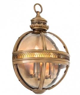 Casa Padrino Luxus Wandleuchte Antik Messing - Luxus Qualität