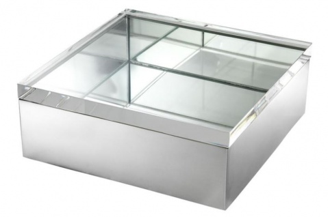 Casa Padrino Designer Box mit Deckel - Luxus Dekoration