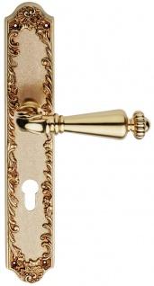 Casa Padrino Barock Türgriff Set Französisches Gold 14, 5 x H. 30 cm - Barock Kollektion