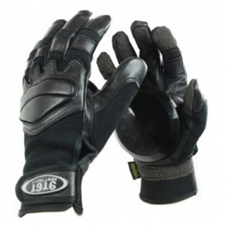Ninetysixty Slide Handschuhe Longboard Gloves Schwarz - Skateboard Handschuhe Black - Slidegloves