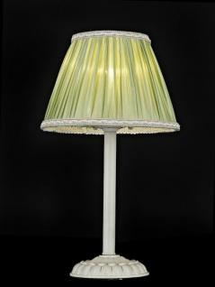 Casa Padrino Luxus Tischleuchte Elfenbein / Lampenschirm Grün 22 x 38 cm - Leuchte - Luxury Collection - Vorschau