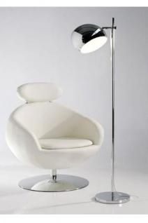 Wunderschöne Stehleuchte aus verchromtem Stahl von Casa Padrino - Hochwertige Qualität Floor Lamp