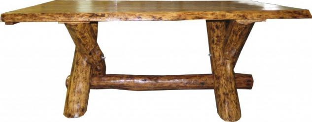 Casa Padrino Massivholz Esstisch Eiche ca 200 x 105 cm - Gasthaus Tisch Speisetisch Ritter Tisch - Restaurant Möbel - schwere Ausführung