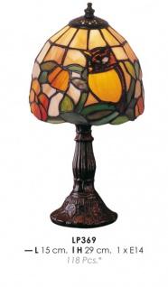 Tiffany Tischleuchte Durchmesser 15cm, Höhe 29cm LP369 Leuchte Lampe