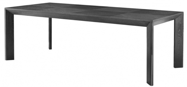 Casa Padrino Luxus Esstisch in schwarz 225 x 100 x H. 75 cm - Limited Edition - Vorschau 1